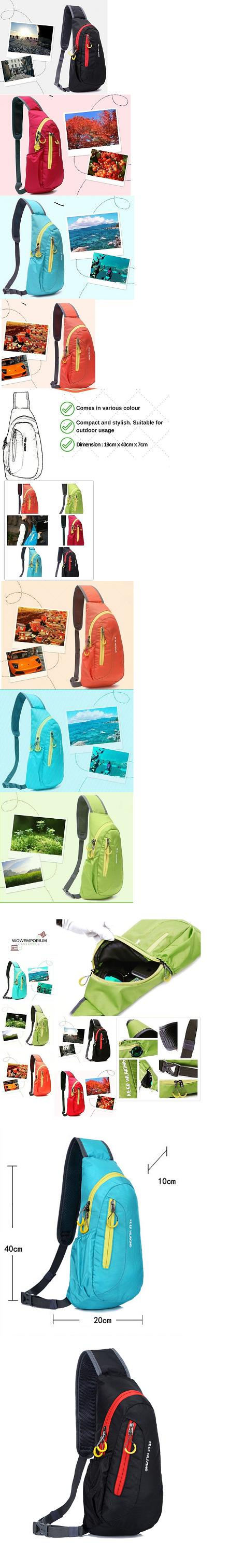 Free Knight Sling Bag 5 Litre Crossbody Sport Cycling Bag