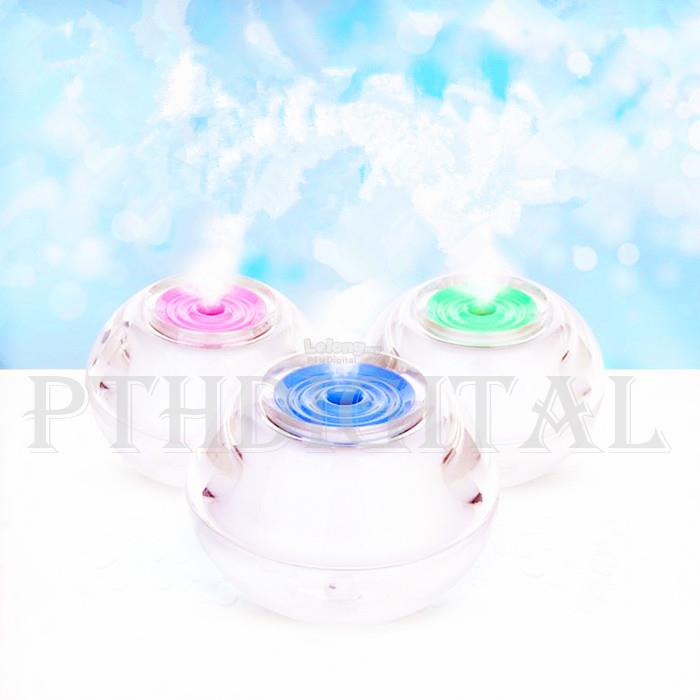 [FREE Oil] Mini Crystal USB Ligthting Luminous Air Purifier Humidifier