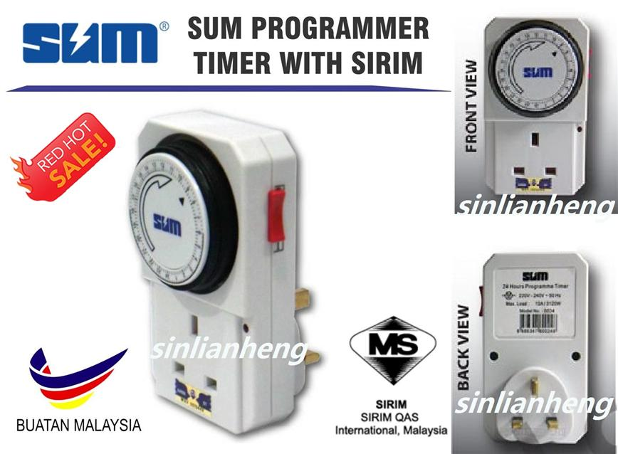 FREE Postage AC Adaptor Plug Electrical Programme Timer Controller SRM