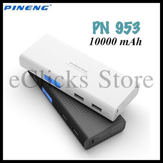 New~Free Pouch~ 100% Original Pineng PN-953 10000MAH Power Bank