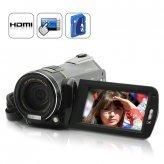 Free Shipping 1080P HD Camcorder (Touchscreen, 12 x Optical Zoom)