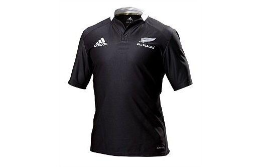 FREE SHIPPING- ALL BLACK RUGBY JERSEY