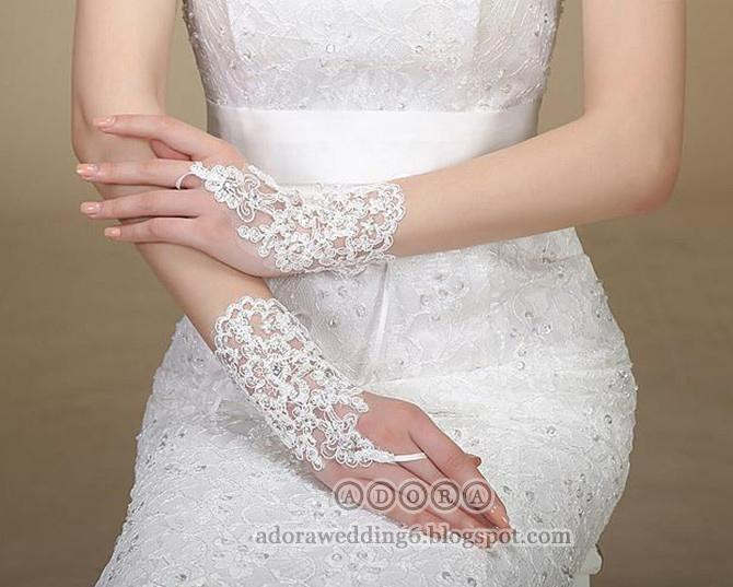 *Free shipping*Bridal Glove (Short) BGS-002C