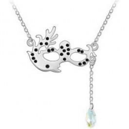 [Free Shipping] Costume party necessary Austria crystal necklace