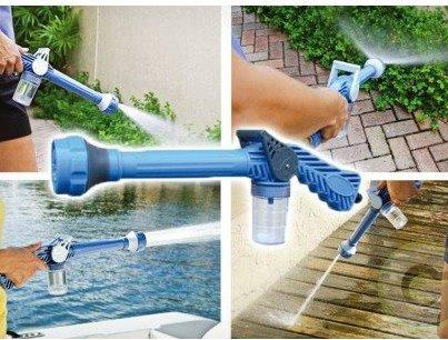 Free Shipping - EZ Jet Water Cannon 8-Nozzle Multi-Function Spray Gun