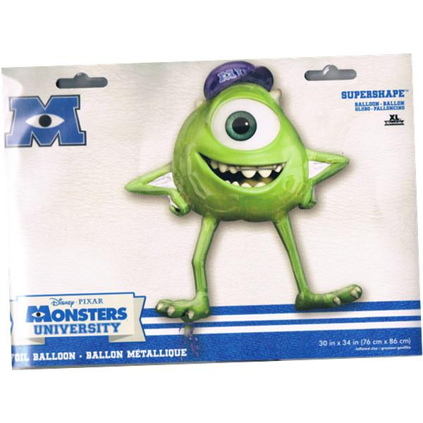 FREE SHIPPING Monsters University Mike Super Shape Foil Balloon P