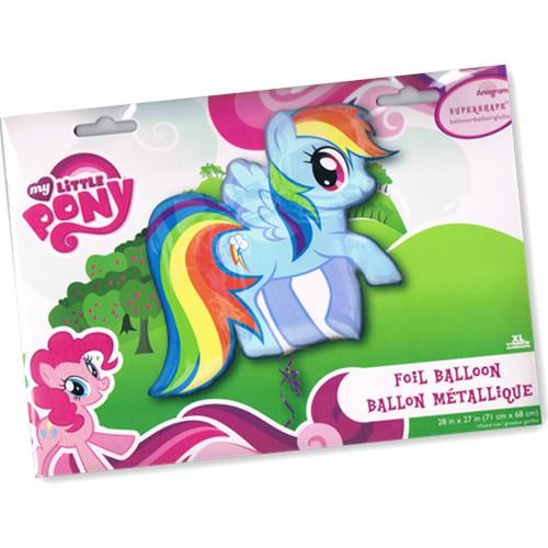 FREE SHIPPING My Little Pony Super Shape Foil Balloon Happy Birthday