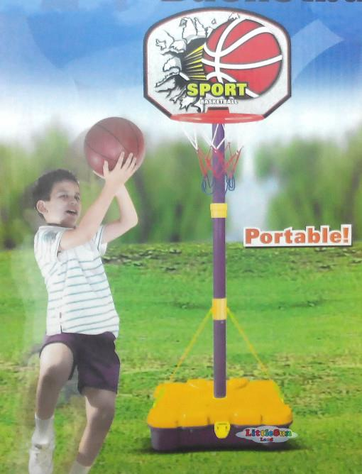 FREE SHIPPING-Portable & Adjustable Height Basketball play set