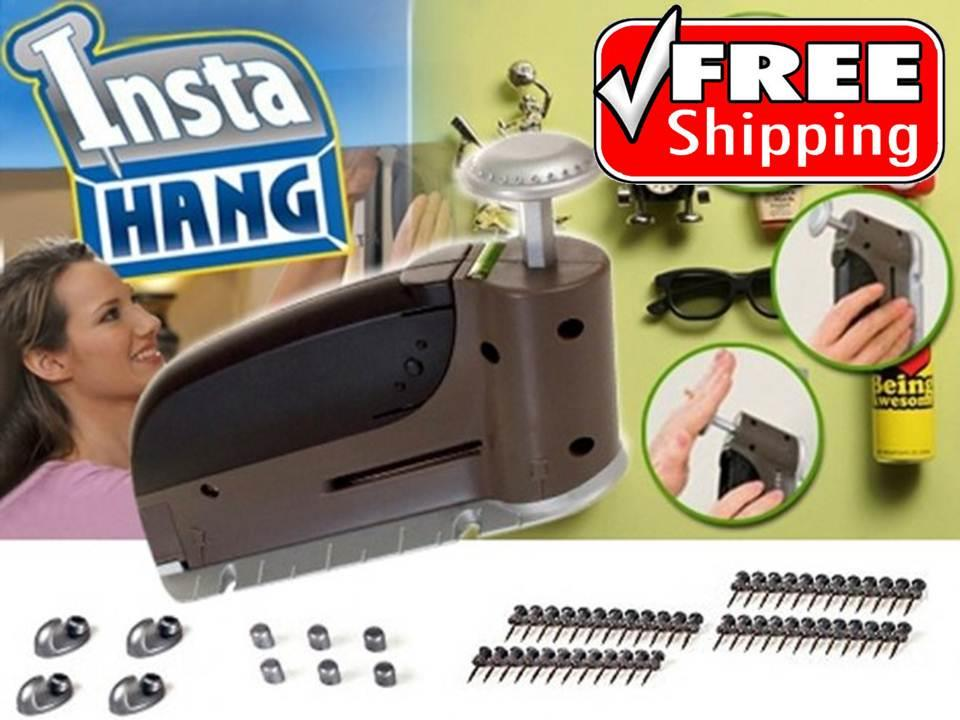 FREE SHIPPING As Seen On TV Insta Hang Wall Hook Drywall Hangers