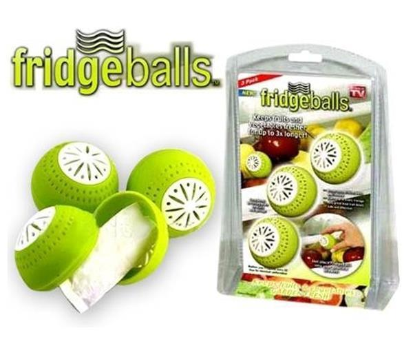 Free ShippingRefrigerator Deodorizer Fridgeballs Keep Odour Away