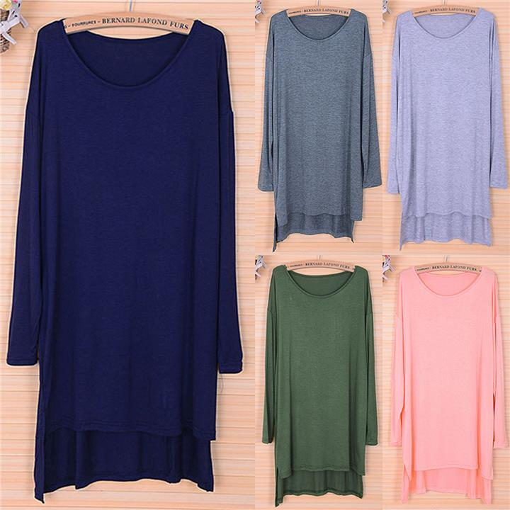FREE SIZE 8 colors long sleeve ladies comfort blouse