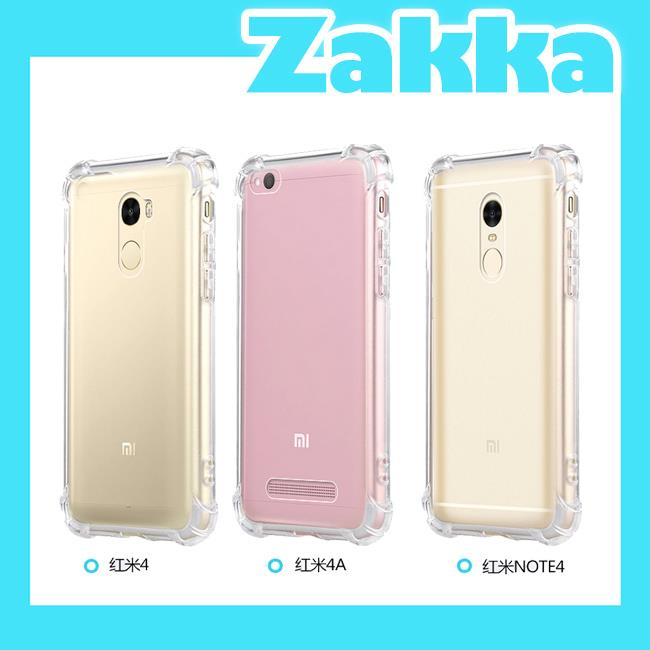 FREE Tempered Glass Xiaomi Redmi 4 4A Note 4 Back Casing Case Cover