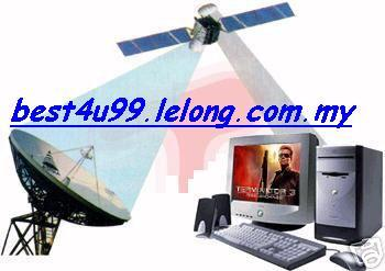 Free Tonton 14,000 Satellite/Astro TV Channel pc laptop notebook komputer RM1
