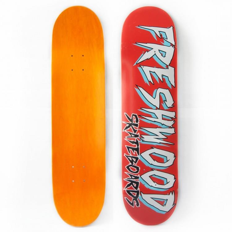 FRESHWOOD - Bloody Red Complete Skateboard