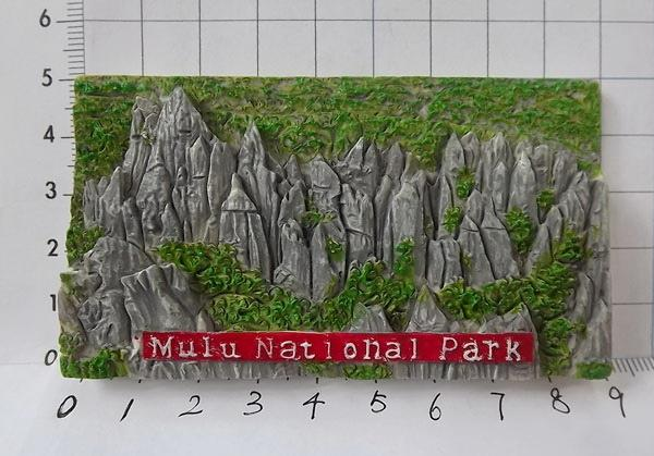 Fridge Magnet Mulu Pinnacles