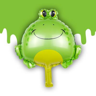 LITTLE FROG PRINCE SHAPE PARTY DECORATION BALLOON