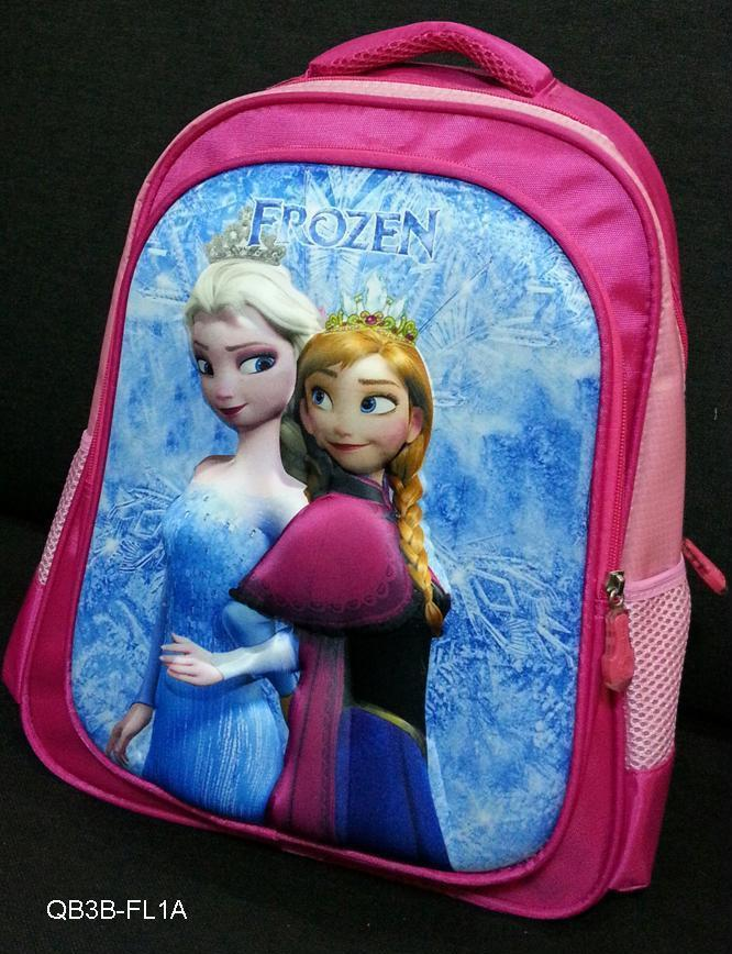Frozen 3D School Bag / Backpack / Children Gift