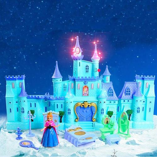Frozen Dream House Big Blue Castle