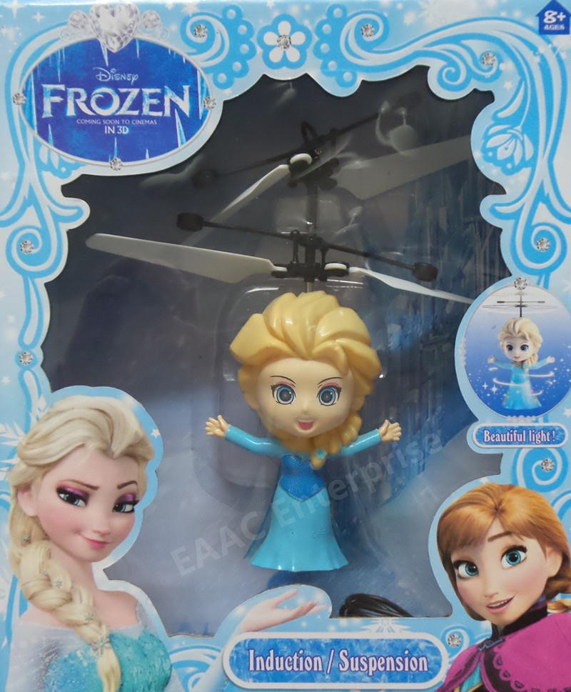 Frozen Elsa Induction / Suspension Helicopter Syma Quadcopter