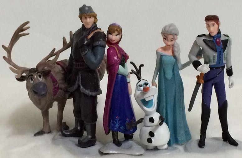 Frozen Princess Figurines Cake Topper, Disney Frozen Toy – CCT13