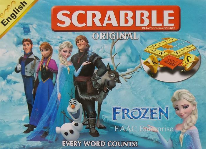 Frozen Scrabble Trickster Game Puzzle Game Silang Kata