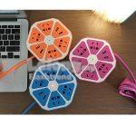 Fruit Design Power Supply Socket WITH 4 USB (Free Shipping)
