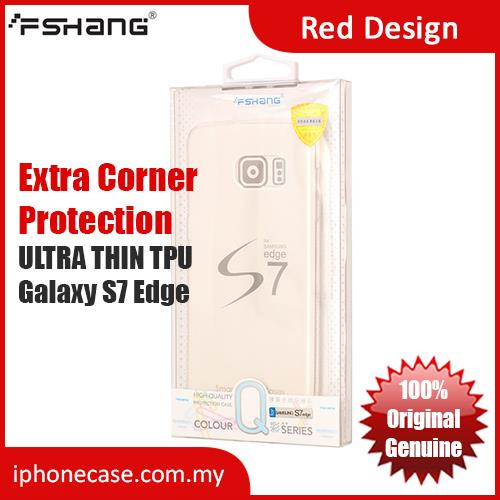 FSHANG Soft TPU Case for Galaxy S7 Edge