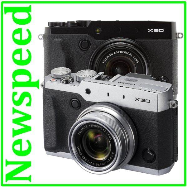 Fuji Fujifilm X30 WiFi Digital Camera + 8GB+LeatherCase (MSIA)