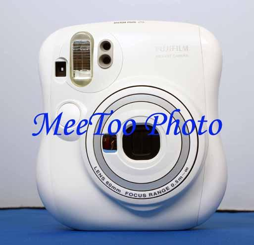 Fujifilm Instax Mini 25 White Camera Free Instax Mini Film Free Ship