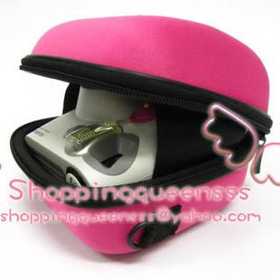 Fujifilm Instax Mini 7s 25 50s Camera Pink Hamburger Bag Burger Polaba
