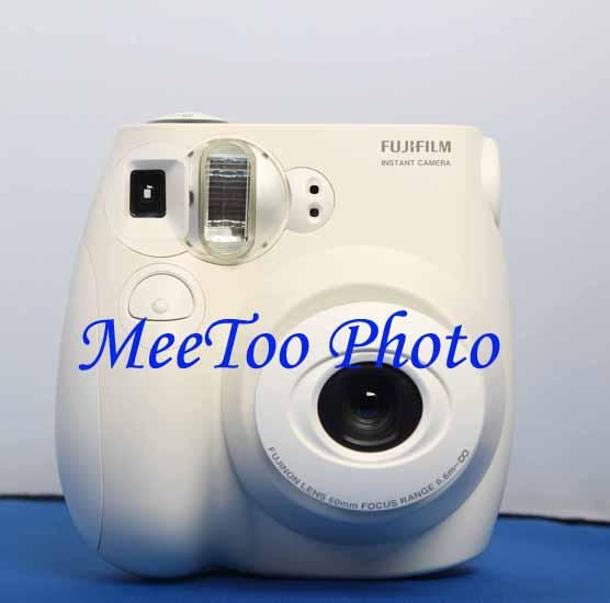 Fujifilm Instax Mini 7s White Camera Free Instax Mini Film Ready Stock