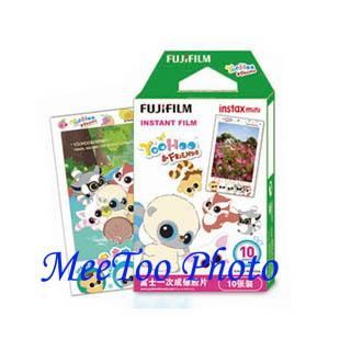 Fujifilm Instax Mini Yoohoo & Friend Cartoon Film Ready Stock Free Shi..