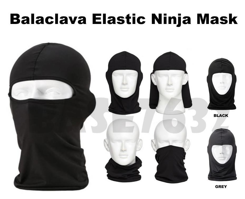 Full Face Balaclava Ninja Outdoor Sports Paintball Elastic Mask Helmet