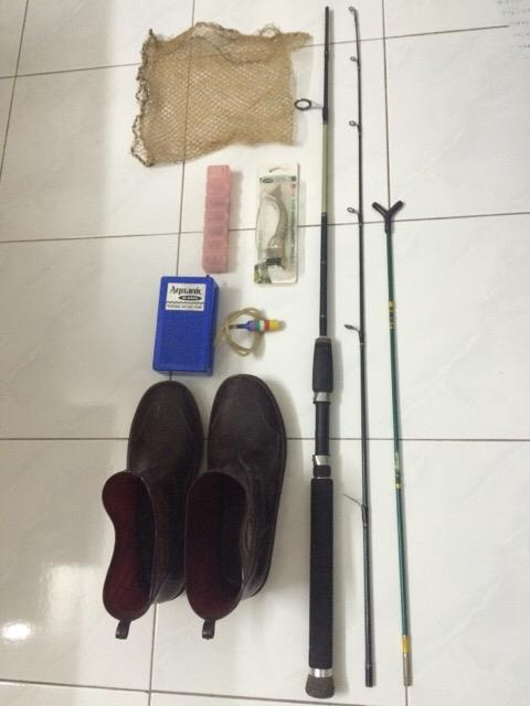 Full Set Fishing Equipment / Pancing / Joran / Shoe / Kasut / Pancang
