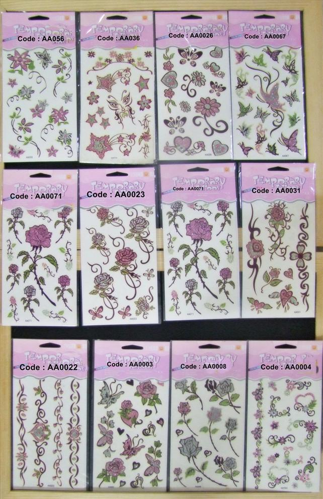 FUN Temporary TaTOOs Sticker 2