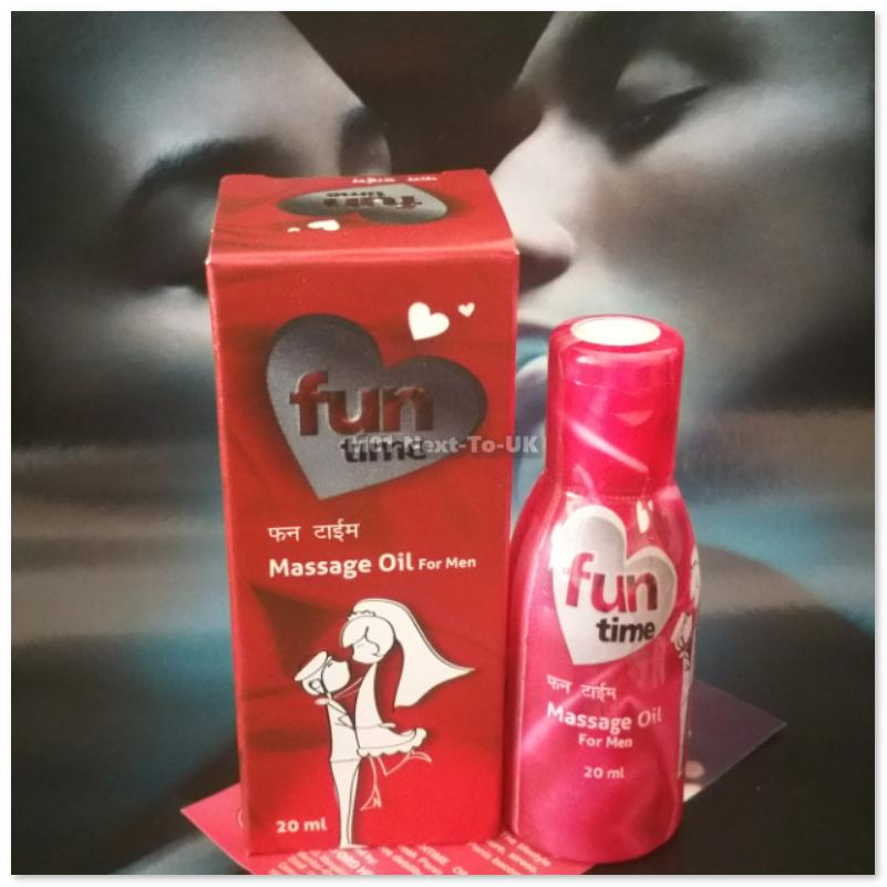 Fun time P Enlargement Massage Oil for Men Pleasure Enhancement Natura
