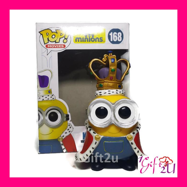 Funko POP Minions King Bob Collectible Action Figure
