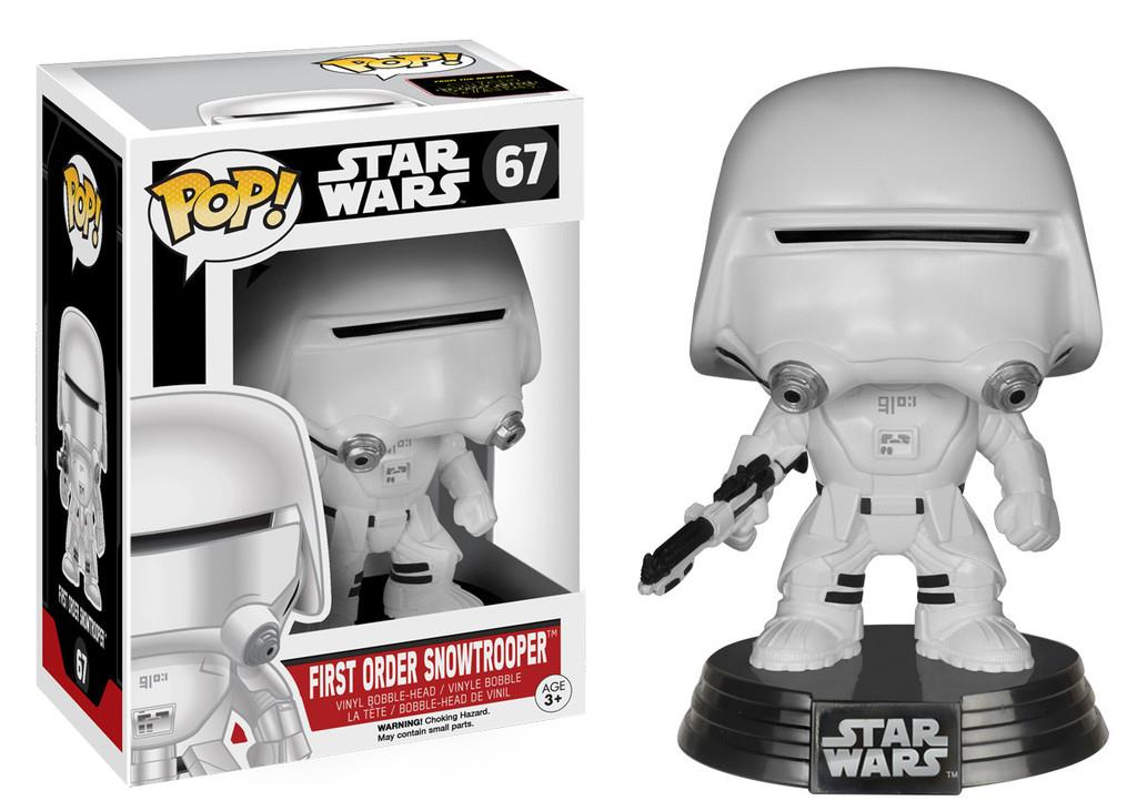 FUNKO POP! STAR WARS 7: FIRST ORDER SNOWTROOPER for TOYS FIGURINE
