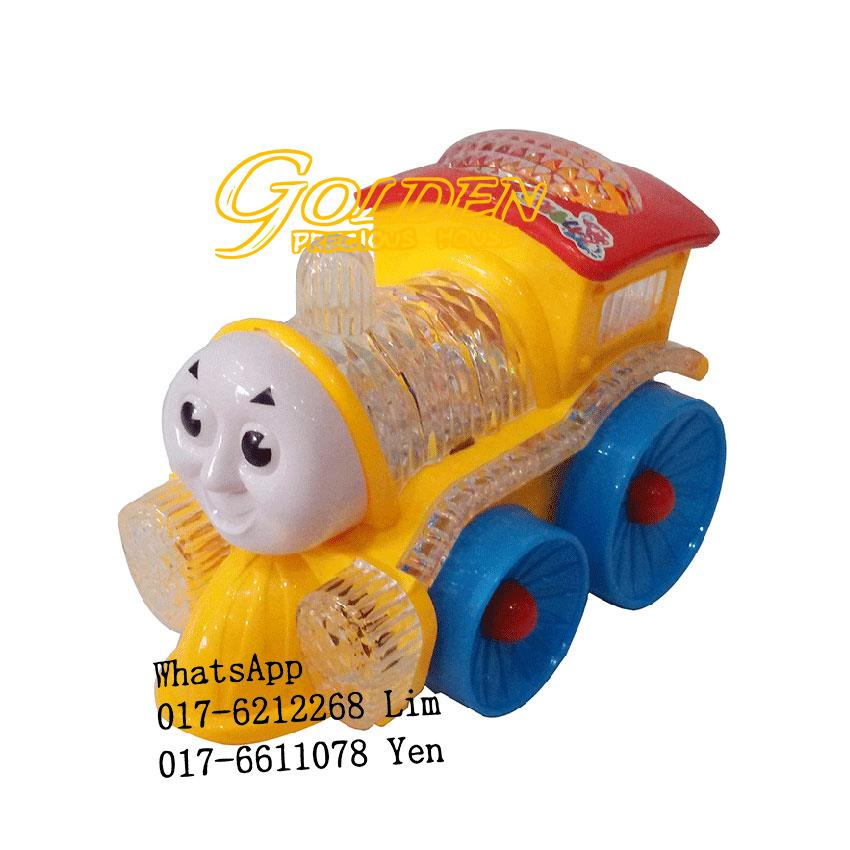 Funny Loco Musical Toy Train with Flashing LED Lights