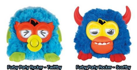 FURBY PARTY ROCKER HASBRO CHRISTMAS GIFT LOVERS