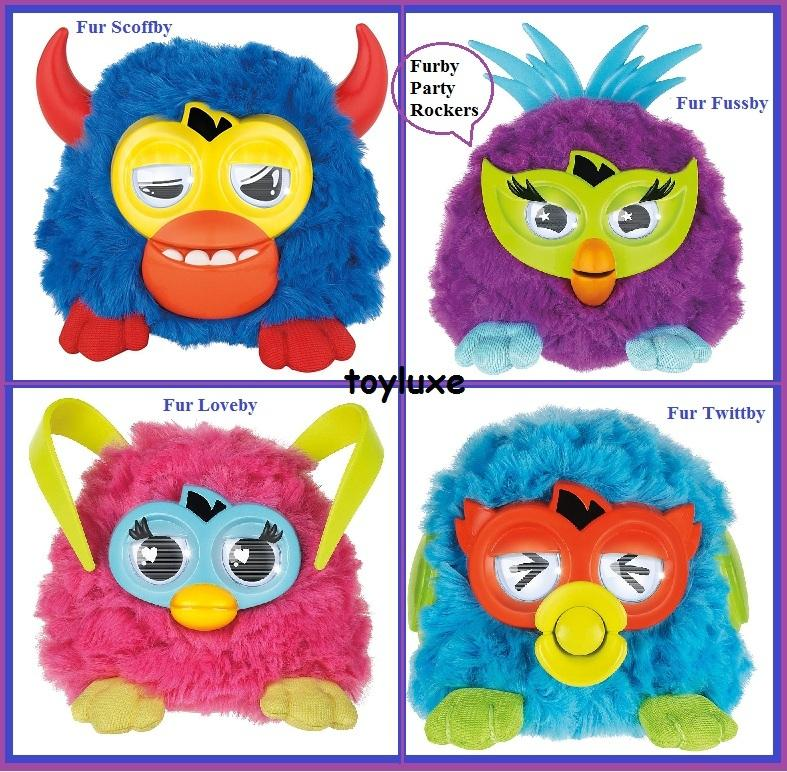 furby pink blue coloring pages