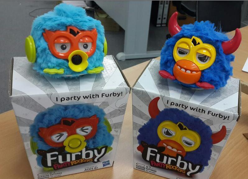 FURBY Singer Party Rockers HASBRO Birthday Gift Valentines Christmas