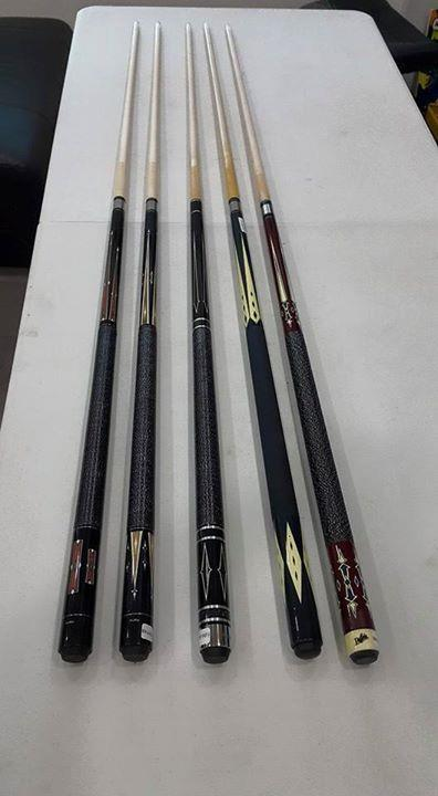 Fury  Billiard Pool Cue 13mm 158cm Two Piece Pool Snooker