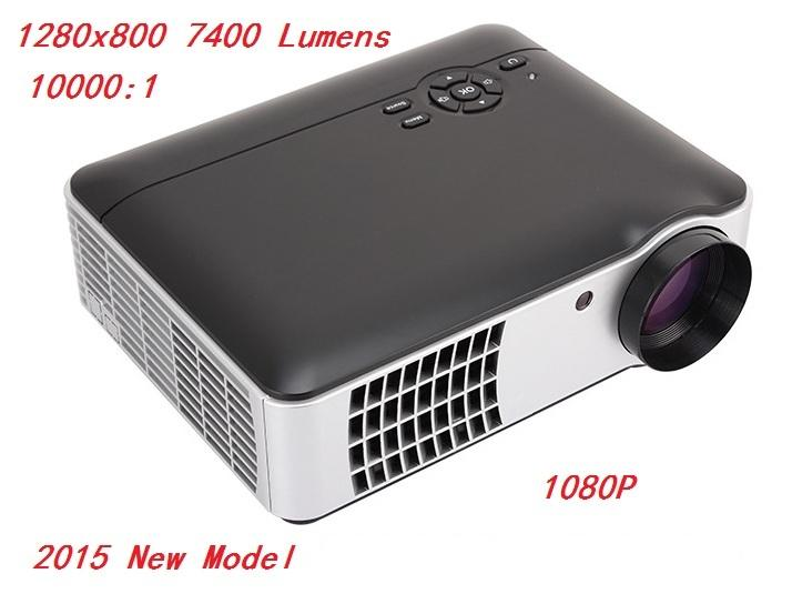 FUTURE LED Projector 7400 Lumens 1280x800 3D 200' FULL HD