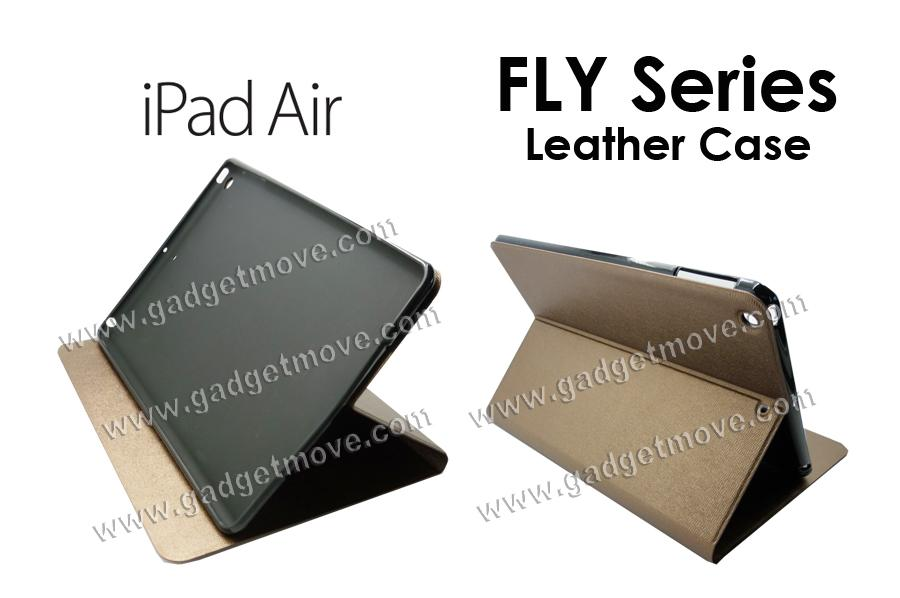 FYL Apple IPad Air 5  Leather Cover Wallet Case Standable Flip Cover