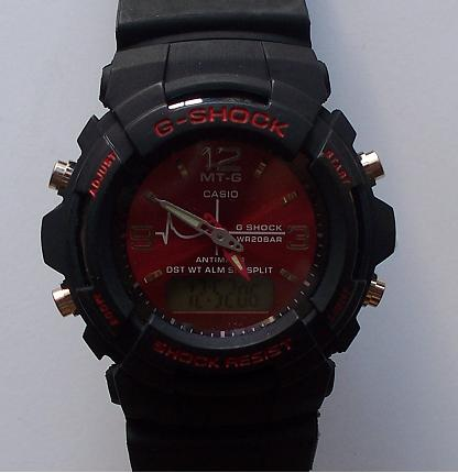G-Shock Analog & Digital Design 3 Red