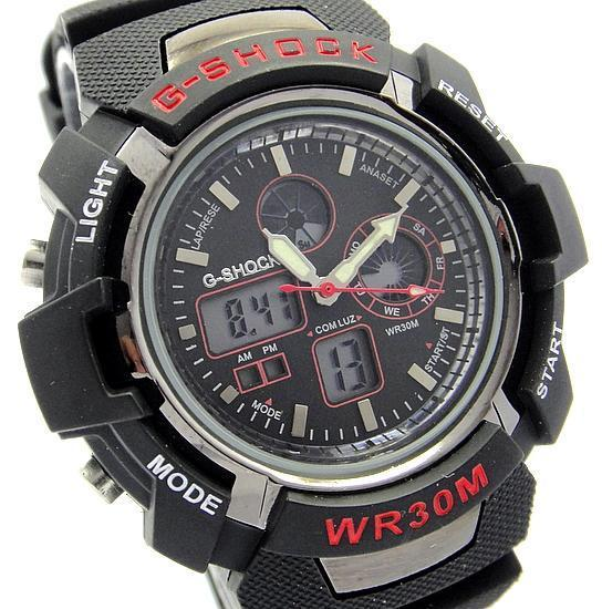G-SHOCK WR30M ANALOG DIGITAL 6 COLOR watch.100%WATERPROOF