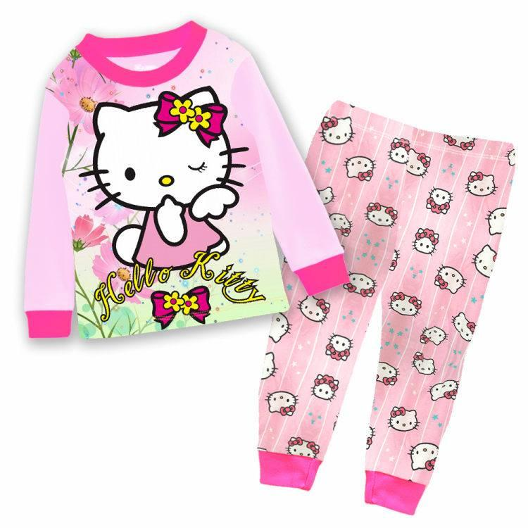 G0168 PINKY HELLO KITTY PYJAMAS