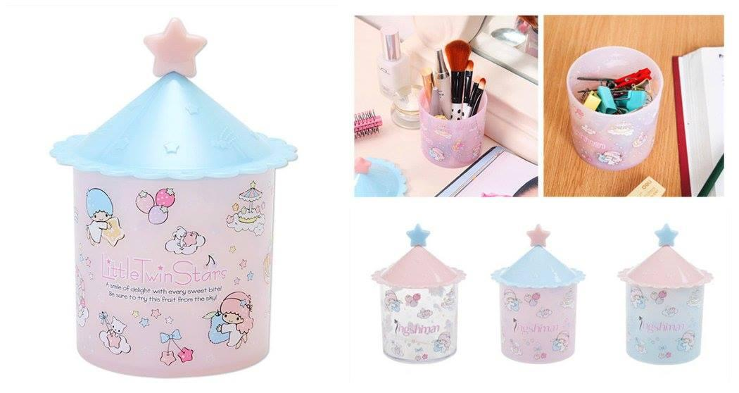 GA0044 LITTLE TWIN STAR PASTEL STORAGE BOX