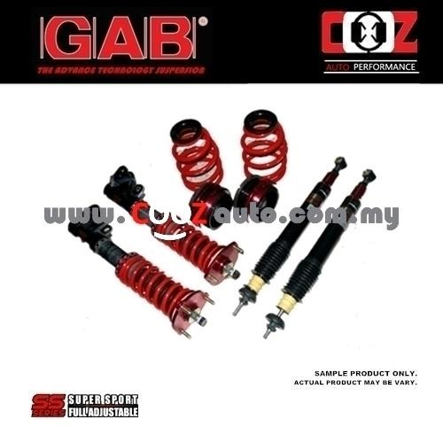 GAB Adjustable High Low Soft Hard SS Series Absorber Honda CRZ